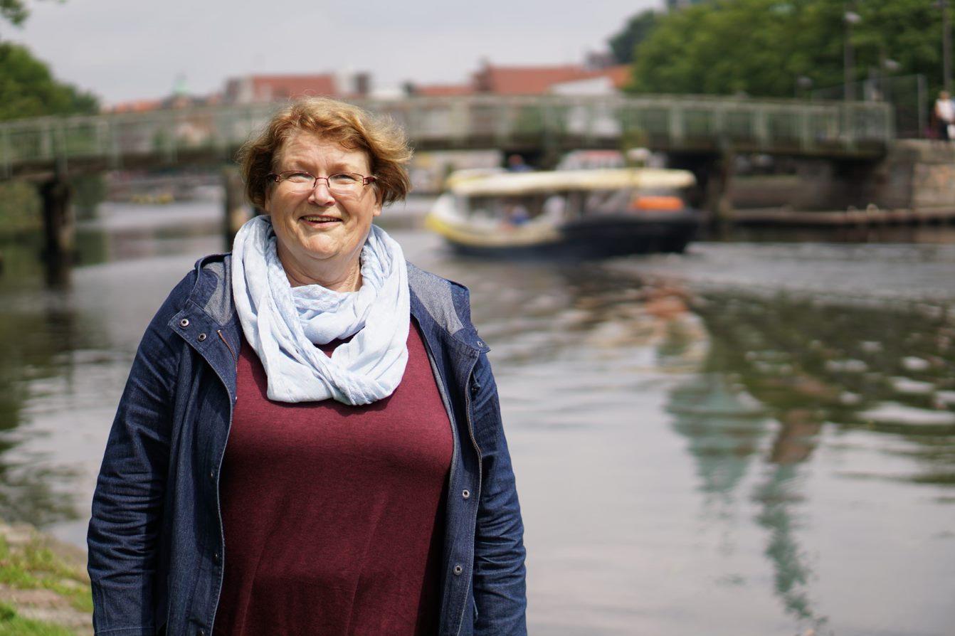 Interviewpartnerin Hildegard