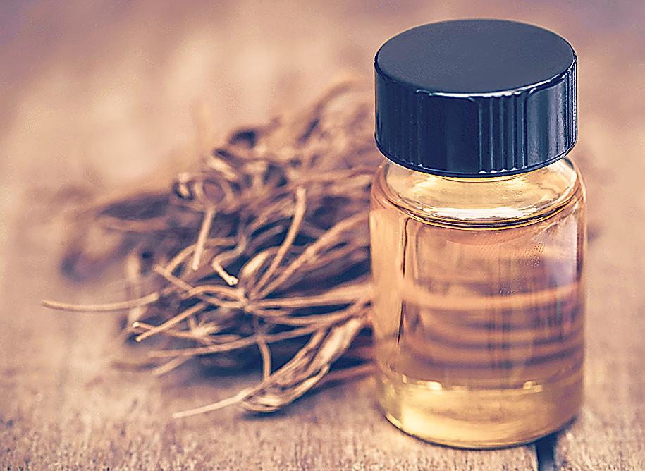 Getrocknete Canabis-Pflanze, Cannabidiol-Öl