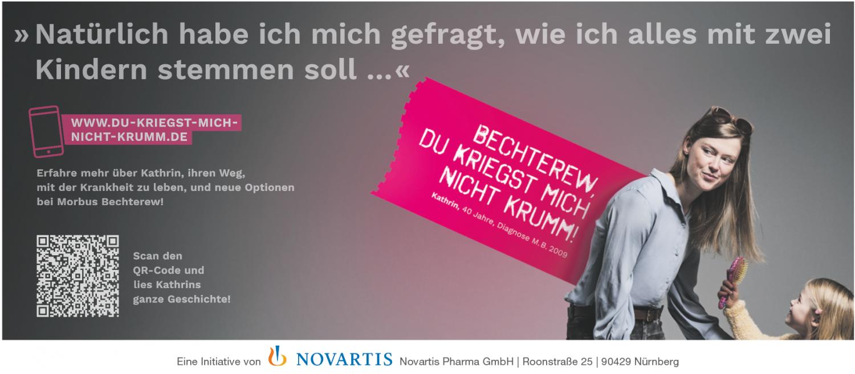 Anzeige Morbus Bechterew
