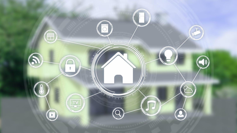 Haus mit vernetzten Geräten